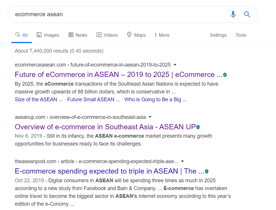 SEO Builds trust and credibility in asean