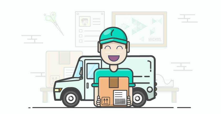 dropshipping delivery and shipping